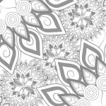 Mandala Coloring Page