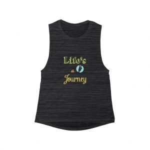 Life's a Journey Women's Flowy Scoop Muscle Tank