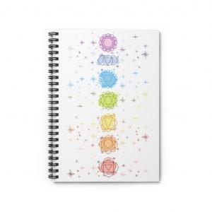 Chakras and stars journal