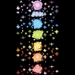Chakras and Stars Design